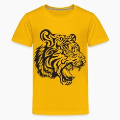 Tribal Tiger Kids' Shirts
