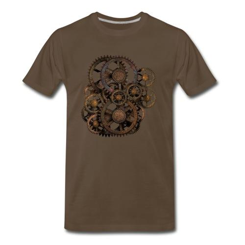 Steampunk Gears No.1A