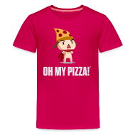 Kids' Shirts ~ Kids' Premium T-Shirt ~ Oh My Pizza - Kids ANY COLOR