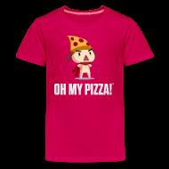 Kids' Shirts ~ Kids' Premium T-Shirt ~ Oh My Pizza - Kids ANY COLOR