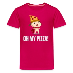 Oh My Pizza - Kids ANY COLOR - Kids' Premium T-Shirt