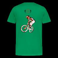 T-Shirts ~ Men's Premium T-Shirt ~ MTB Shirt - Downhill Rider II
