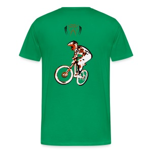 MTB Shirt - Downhill Rider II - Men's Premium T-Shirt