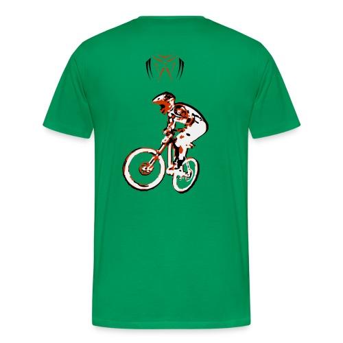 MTB Shirt - Downhill Rider II - Men's Premium T-Shirt