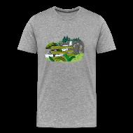 T-Shirts ~ Men's Premium T-Shirt ~ SoaR Sniping Waterfall