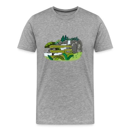 SoaR Sniping Waterfall - Men's Premium T-Shirt