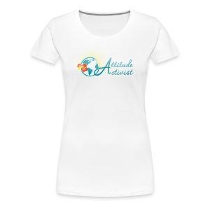Attitude Activist T-shirt - Women's Premium T-Shirt