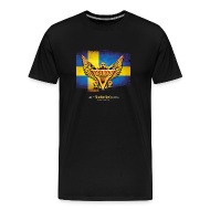 T-Shirts ~ Men's Premium T-Shirt ~ SWEDEN ROCK T-shirt