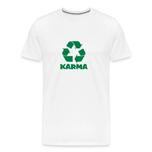 KARMA IS A ... - Men's Premium T-Shirt
