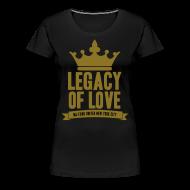 Women's T-Shirts ~ Women's Premium T-Shirt ~ Golden Legacy