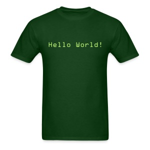 Hello World! - Men's T-Shirt