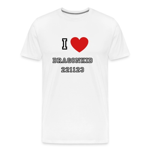 I love Dragonkid 221123 Shirt Women's - Men's Premium T-Shirt