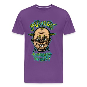 Pulque 4 President! (Mens T-Shirt) - Men's Premium T-Shirt