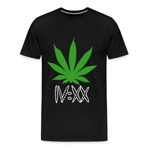 4:20 Joint Roman Numerals - Men's Premium T-Shirt