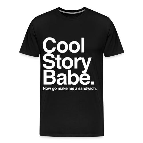 COOL STORY BABE T-SHIRT - Men's Premium T-Shirt