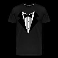 T-Shirts ~ Men's Premium T-Shirt ~ Great Tuxedo