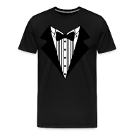 T-Shirts ~ Men's Premium T-Shirt ~ Great Tuxedo