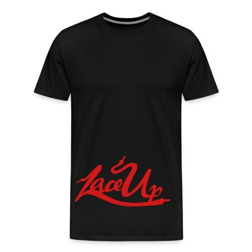 lace up - Men's Premium T-Shirt