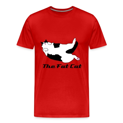The Fat Cat Classic Tee - Men's Premium T-Shirt
