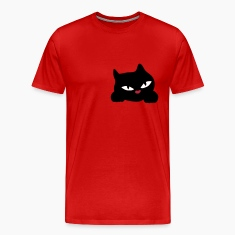 Curious cat cutie by patjila2 T-Shirts