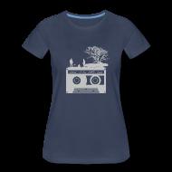 Women's T-Shirts ~ Women's Premium T-Shirt ~ Kick It In The Ass (Swan Song)