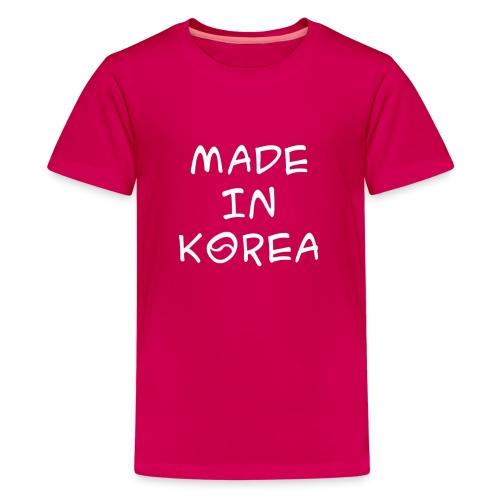 Made in Korea Kid's t-shirt pink - Kids' Premium T-Shirt