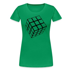 1 Color Cube - Women's Premium T-Shirt