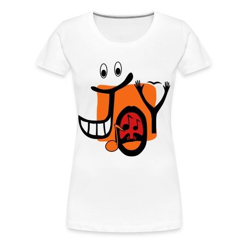 Joy large shirt - Women's Premium T-Shirt