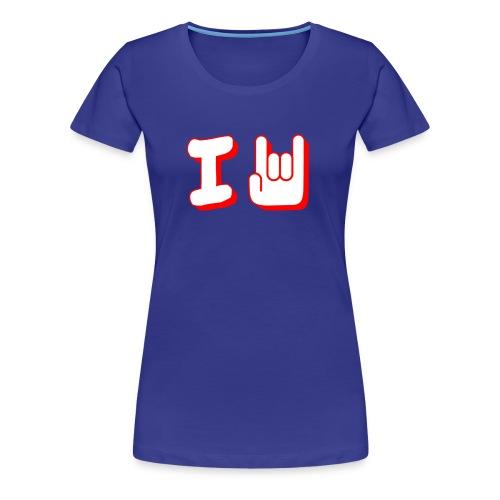 I Rock - Women's Premium T-Shirt