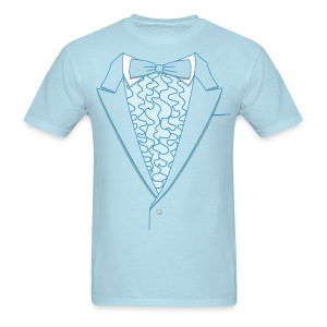Harry Blue Tux - Men's T-Shirt