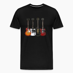 Four Electric Guitars: T-Shirt