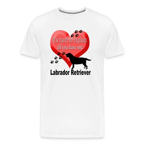 Lab Love Men Tee Shirt - Men's Premium T-Shirt