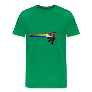 Nyan Tom Waits - Men's Premium T-Shirt