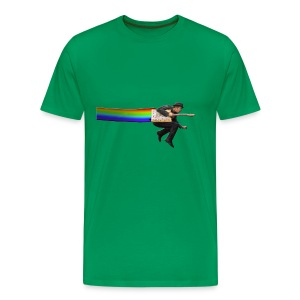 Nyan Tom Waits - Men's Premium T-Shirt