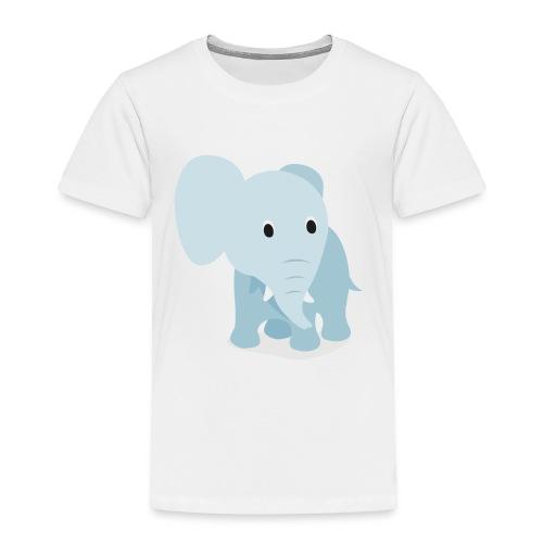 Toddler Elephant Tee - Toddler Premium T-Shirt