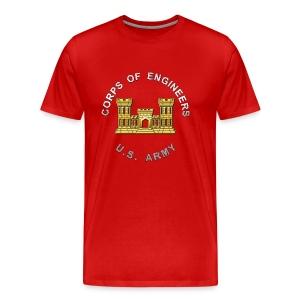 USACE Branch Insignia - Men's Premium T-Shirt