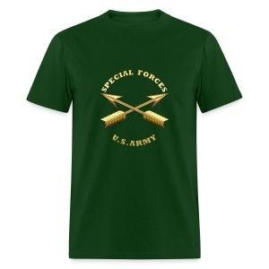 Army SF Branch Insignia - Men's T-Shirt