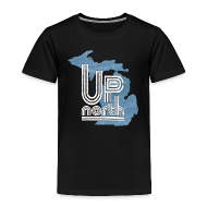 Baby & Toddler Shirts ~ Toddler Premium T-Shirt ~ Retro Up North