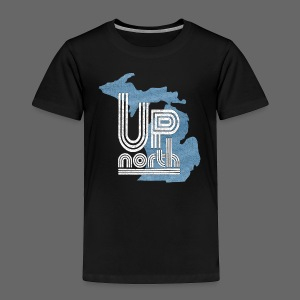 Retro Up North - Toddler Premium T-Shirt