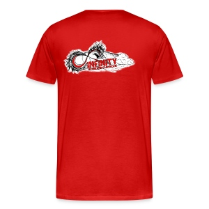INFINITY  - Red - Men's Premium T-Shirt