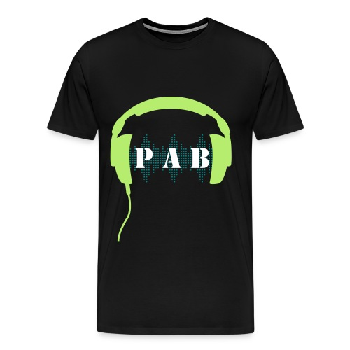 P.A.B. Headphones - Men's Premium T-Shirt