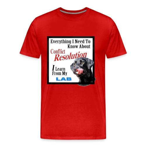 Lab Conflict Resolution 3x - 4x - Men's Premium T-Shirt
