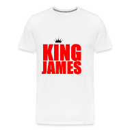 T-Shirts ~ Men's Premium T-Shirt ~ king James T-Shirt