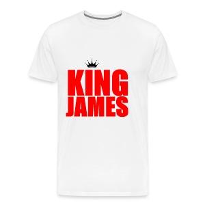 king James T-Shirt - Men's Premium T-Shirt
