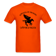 T-Shirts ~ Men's T-Shirt ~ Pegasus CAMP Half-Blood Men's T-Shirt