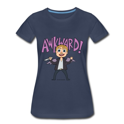 Awkward! [DESIGN BY KARINA] - Women's Premium T-Shirt