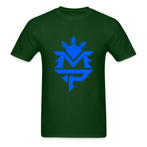 Green and Blue - Men's T-Shirt