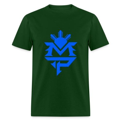 Green and Blue - Men's T-Shirt