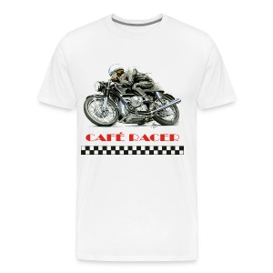 Cafe Racer - BMW Boxer Twin - Men's Premium T-Shirt