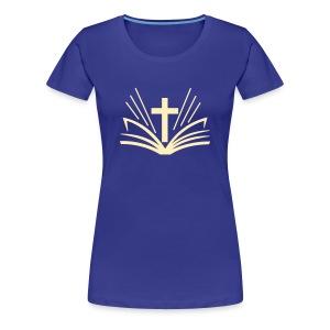 Womens Bible/Cross - Women's Premium T-Shirt